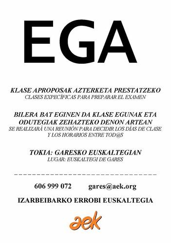 EGA kartela