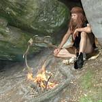 Tarneg the hunter gatherer in sandrock