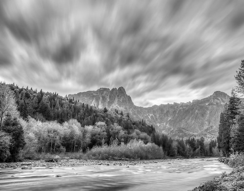 longexposure autumn bw fall weather clouds nikon sunday le cascades pacificnorthwest nik tamron pnw index cascademountains wx snohomishcounty d610 mtindex skykomishriver photomatixpro mtpersis stevenspasshighway ryderphotographic tamronsp240700mmf28divcusd howardryder