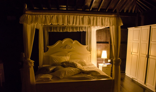 A romantic room at Tanah Aina Farrah Soraya Eco Tourism Resort