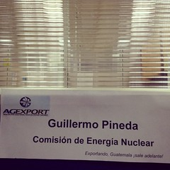 This is my new office name plate!!! ;D #agexport #officenameplates #nuclearenergy