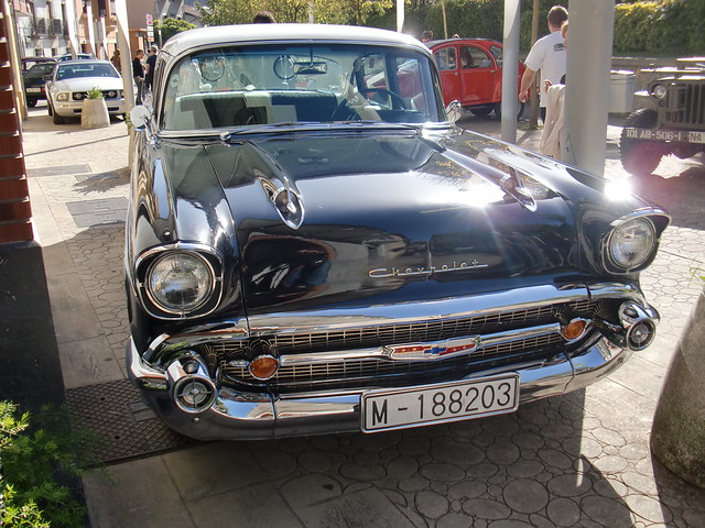 PARRILLA CHEVY BEL AIR