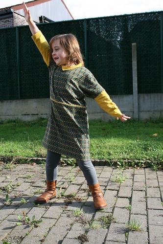 Julia kleedje voor Silke
