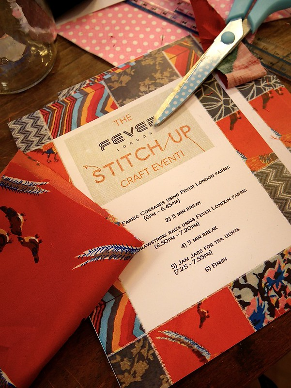 Fever London Stitch Up Blogger Event