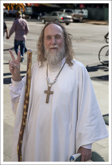 Jesus At The Gun Rally