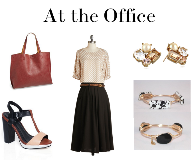 At the Office_Miami Fall Work Outfit