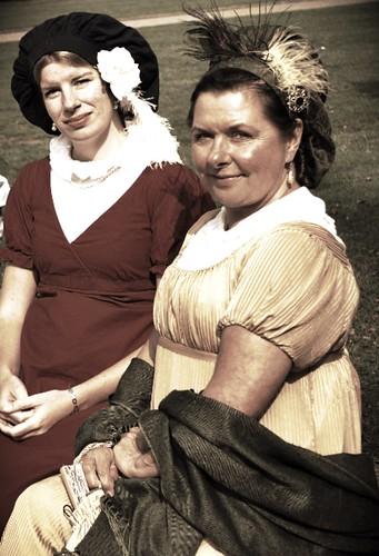 Ladies at Chatsworth