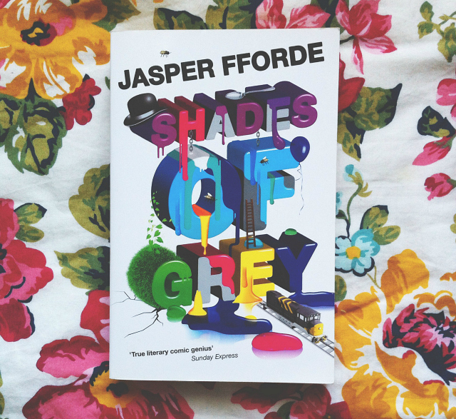 jasper fforde shades of grey books lifestyle blog uk vivatramp book blogger on my shelf