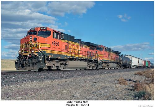 BNSF 4930 & 4671