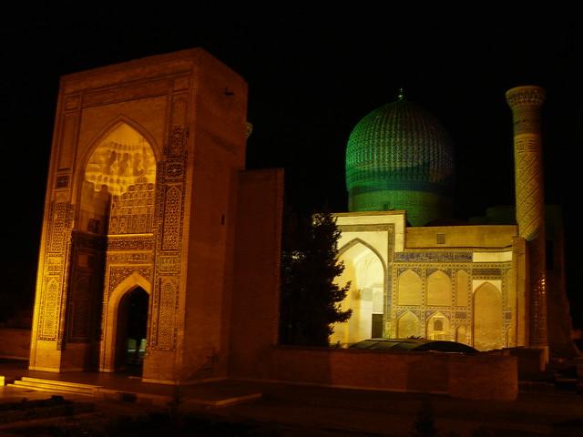 Le mausolée de Timur