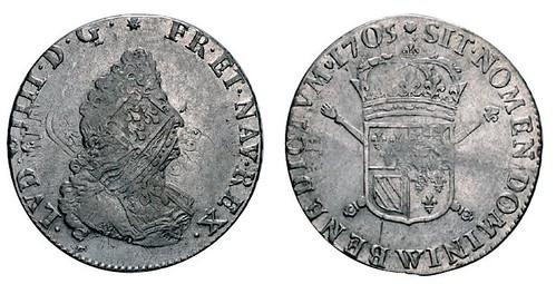 No. 434 FRANCE. Louis XIV, 1643-1715