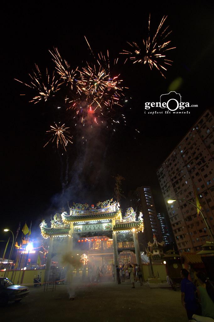 Fireworks at 头条路斗母宫