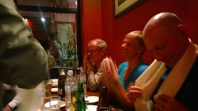 Kathmandu Fire & Ice farewell dinner