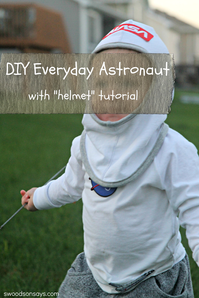 make your own astronaut helmet costume - photo #11