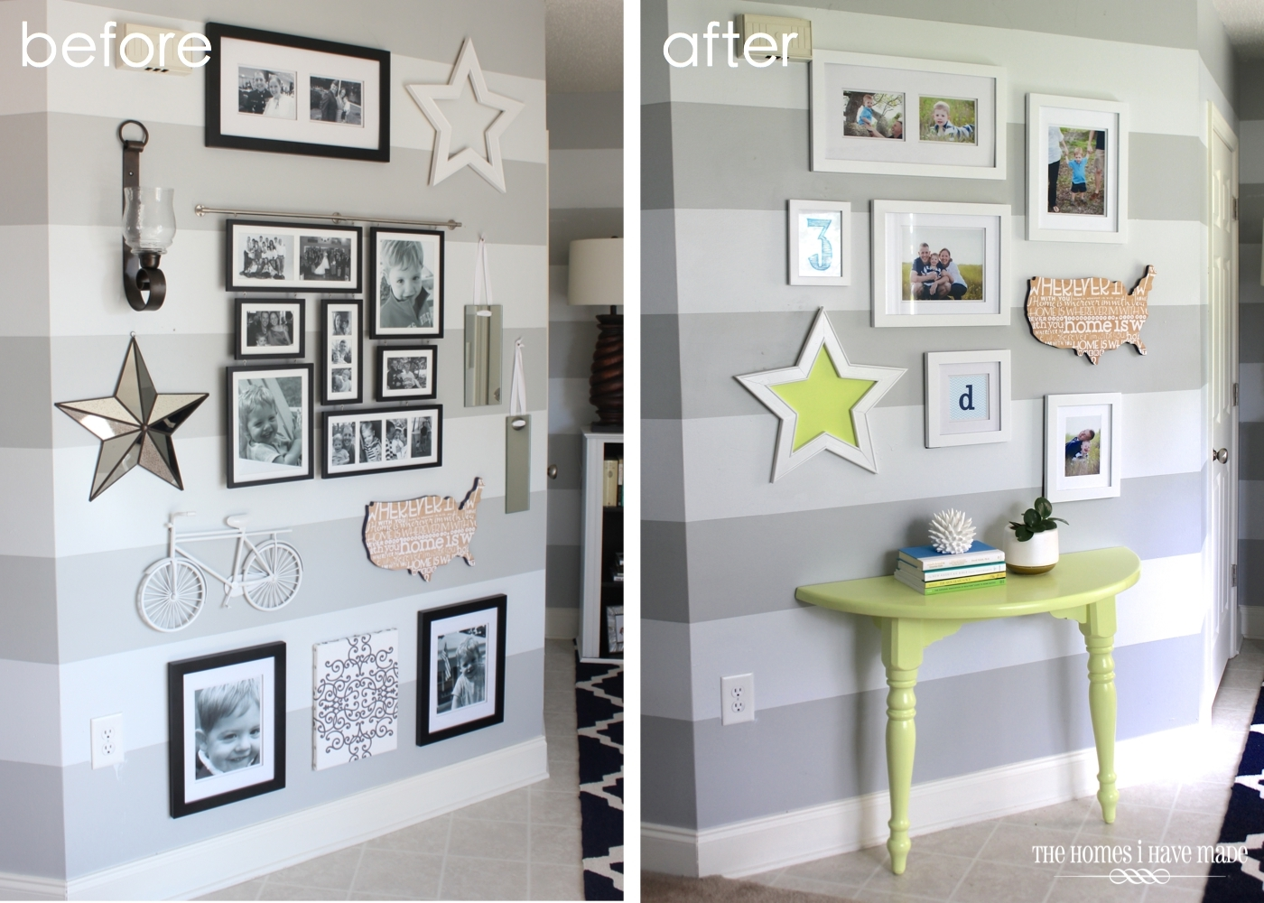 Pops of Color-Before After Entry-ForRent.com