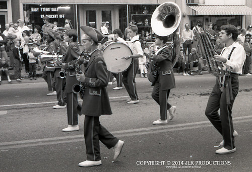 Tri-X Files 84_25.15a: Saxophones, Lower Brass, Percussion