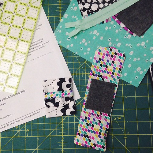 Geometric Bliss Mini Foldover Pouches
