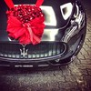 #maseratigranturismo sport v8 for de newly weds I would say #bellissima