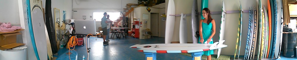 at Gerry Lopez Surfboards