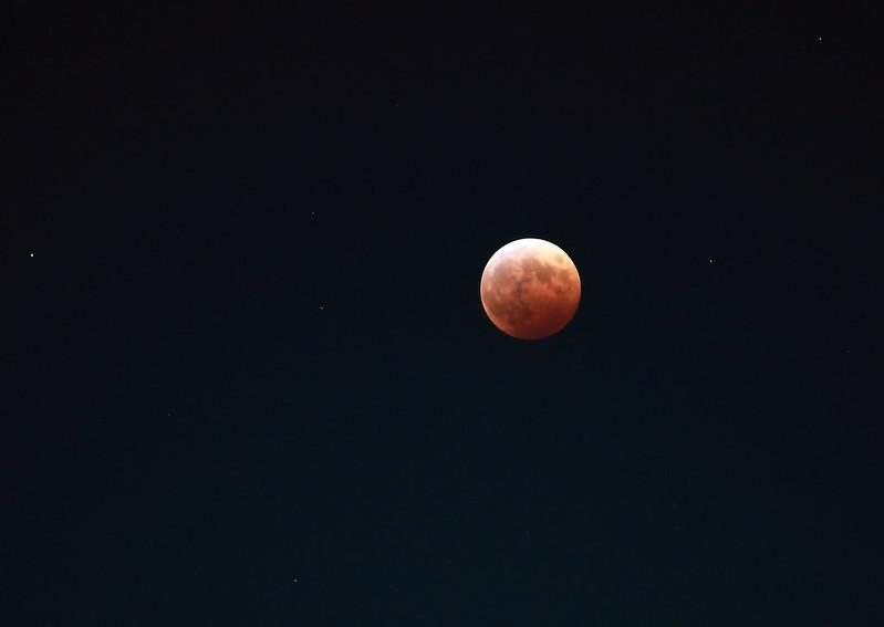 Lunar Eclipse, Tokyo
