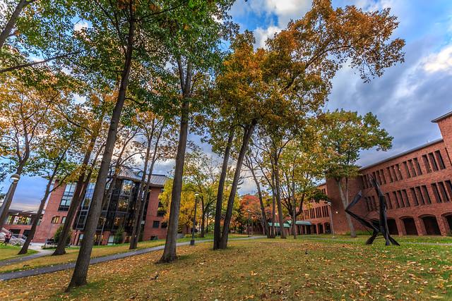 Skidmore College Campus in Fall