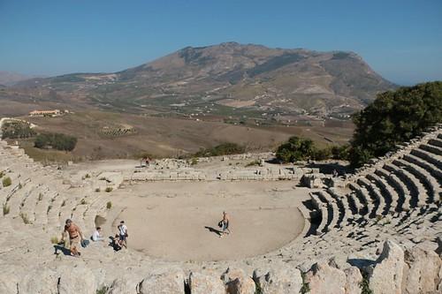 Segesta: teatro greco (ristrutturato dai romani)