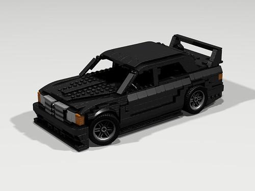 Lego 1990 Mercedes 190E Evo II