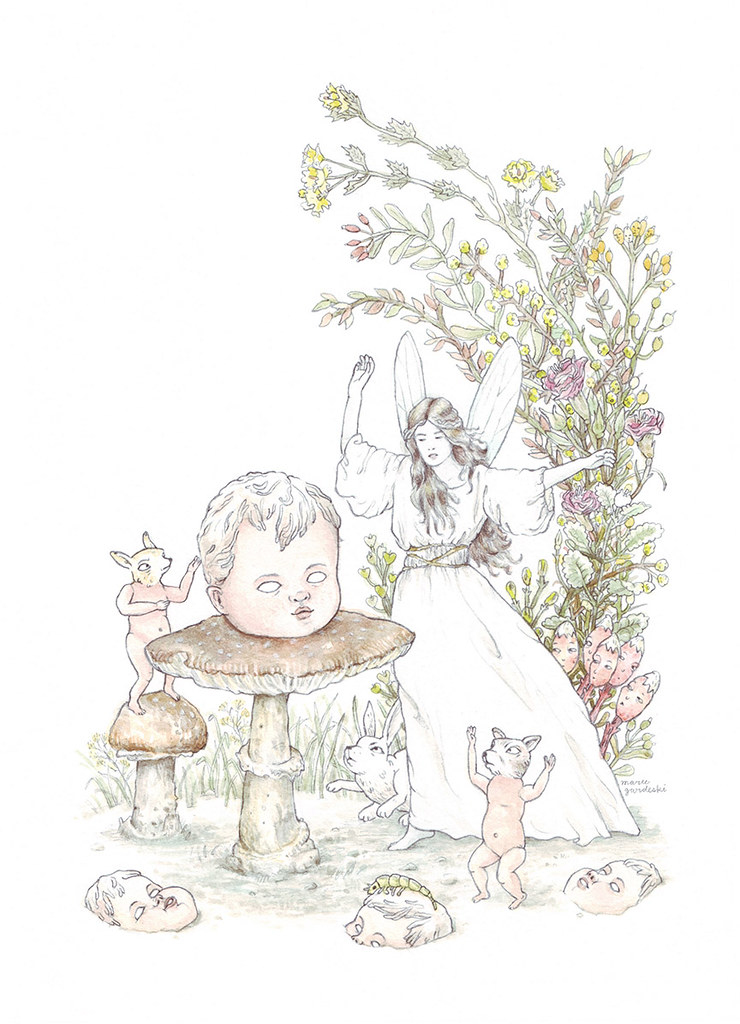 Fairy Illustration for Oh Comely