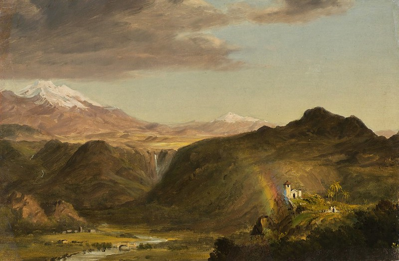 Frederic Edwin Church - South American Landscape (1854)
