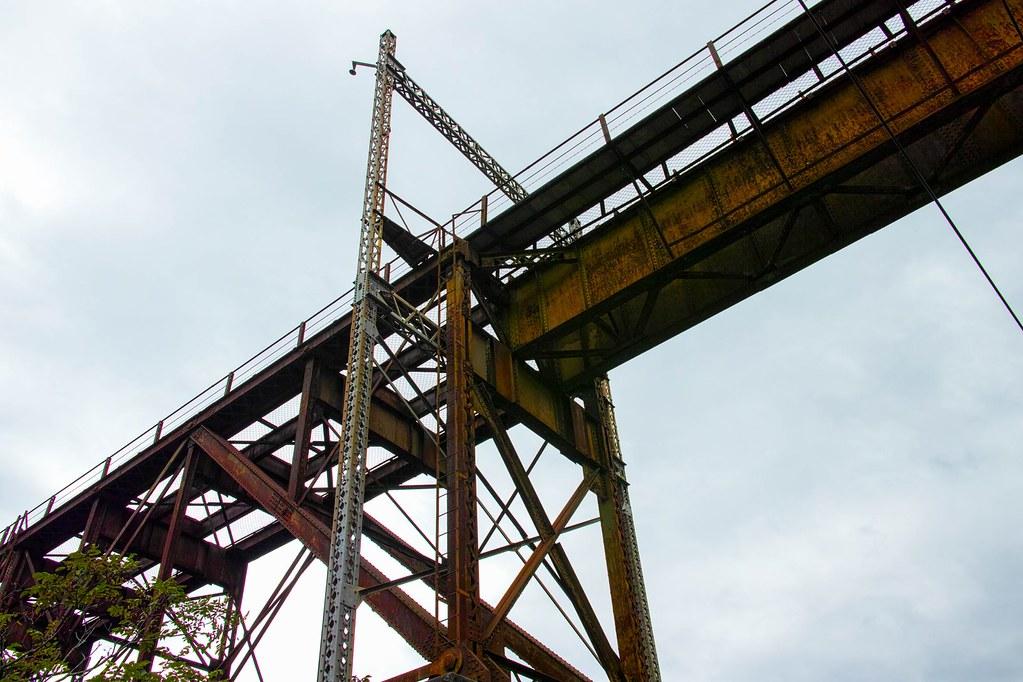 プレートガーダー橋とトラス橋