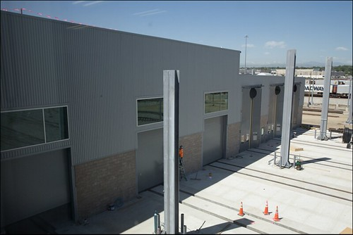 Photo of Exterior of the commuter rail maintenance facility