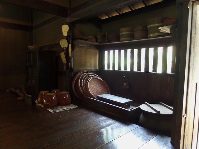 Baskets inside the House of Koide
