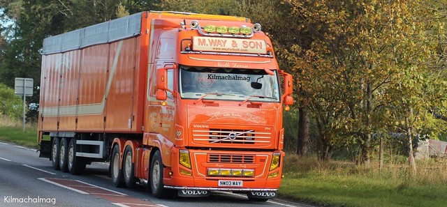 M.Way & Son North Devon Volvo FH NW03 WAY