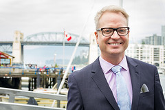Peter Cathie-White, new Executive Director of The Arts Club Theatre Company in Vancouver