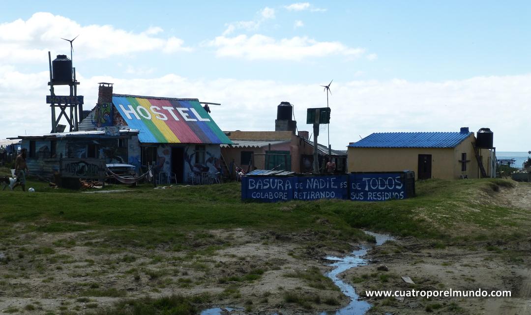 Hostel en Cabo Polonio
