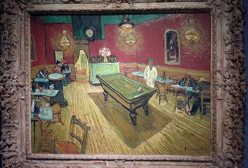 Le cafe de nuit (The Night Cafe), by Vincent van Gogh (1888)