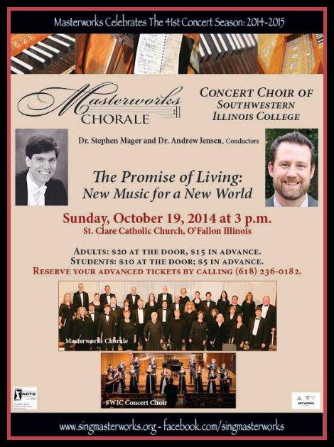 Masterworks Chorale 10-19-14