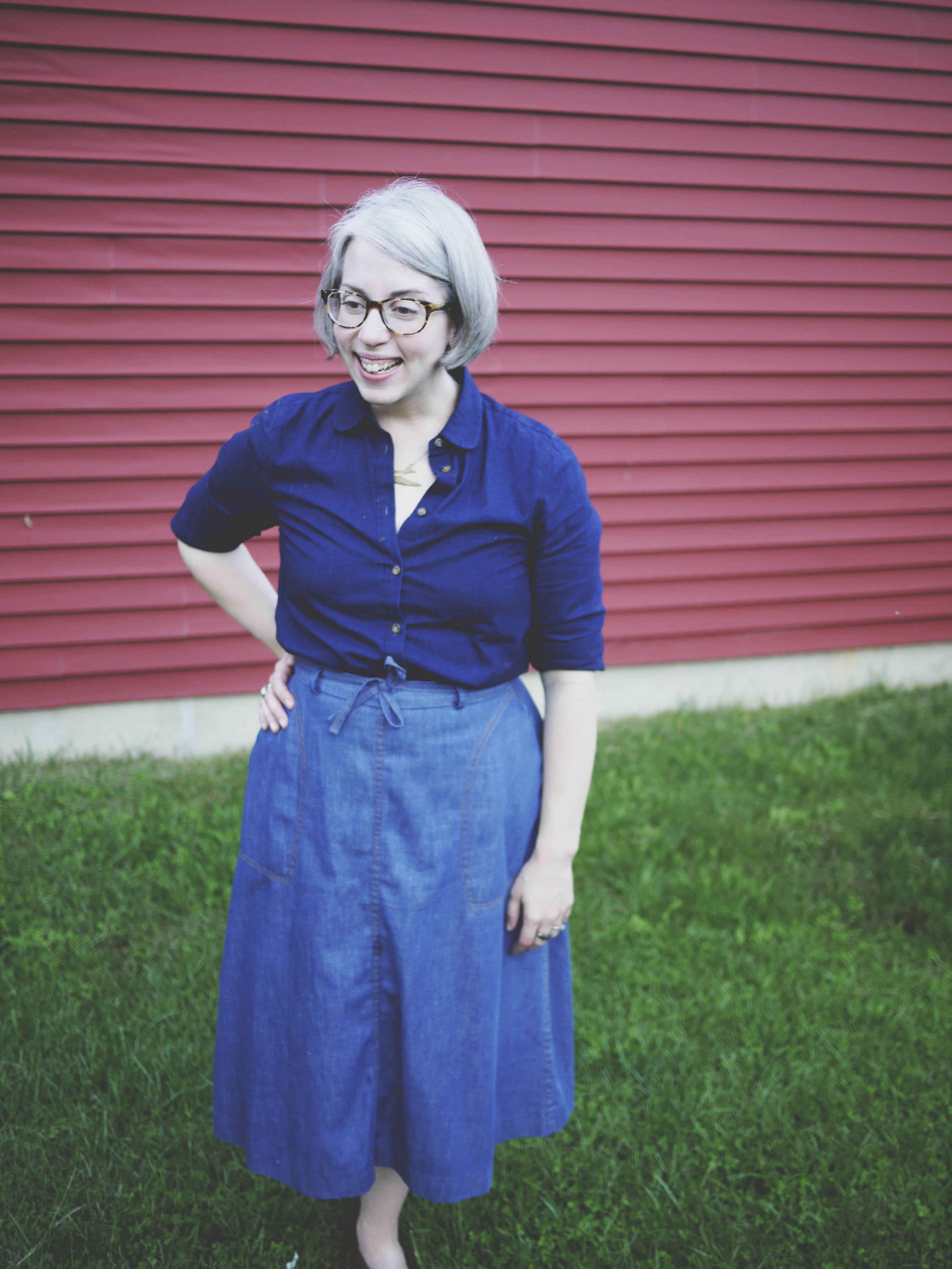 Nash and Russo :: Chambray and Denim