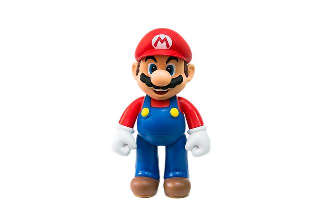 50cm 高,巨大 Mario 馬力歐可動公仔 @3C 達人廖阿輝