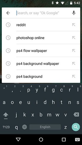 установка клавиатуры из Android 5.0