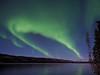Northern Lights over Big Fox Lake