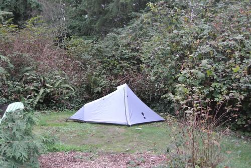 Autumn Overnighter - Camping in Fay Bainbridge Park