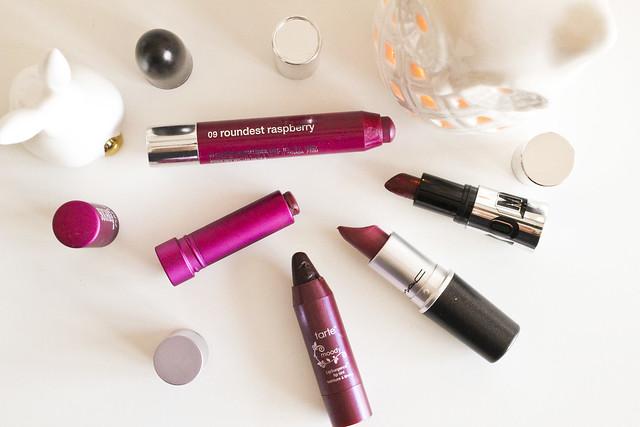 berry lipsticks
