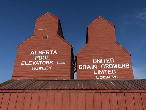 Rowley grain elevators
