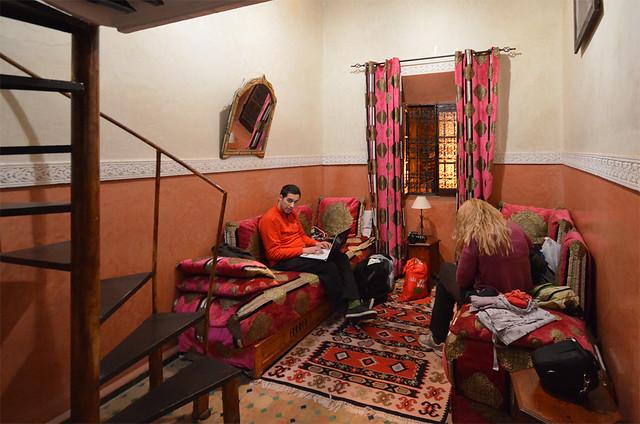 Nuestro riad en Marrakech