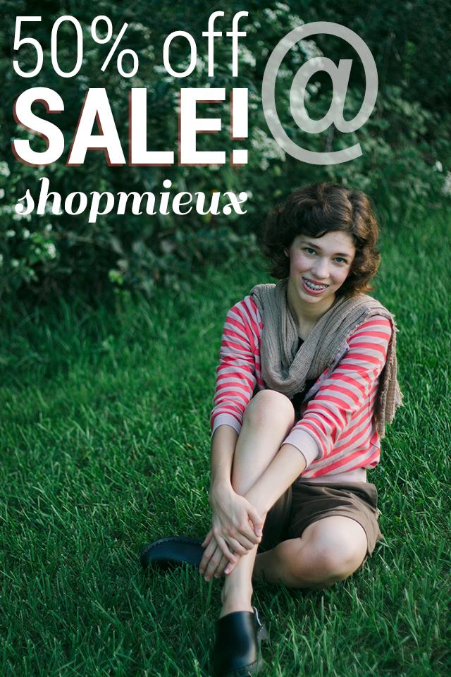 Sale @ ShopMieux!