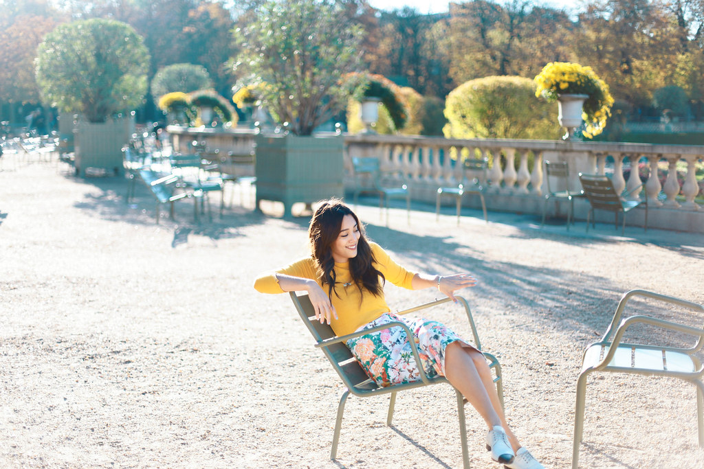 Kim Jones jardin du Luxembourg photo by Faye Bullock