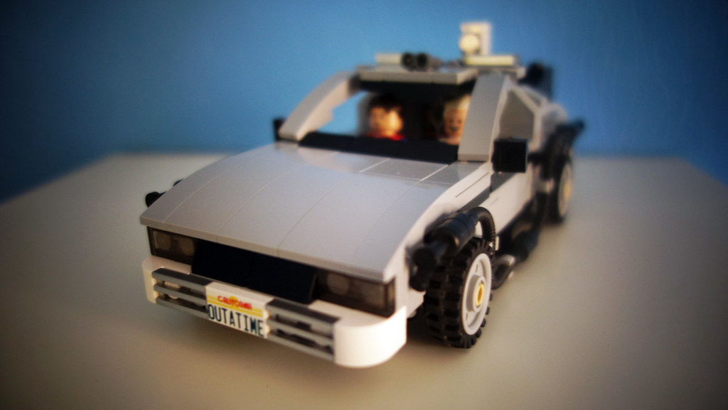 Mod Back To The Future Delorean Lego Licensed