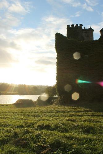 sunset castle menlocastle