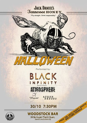 Rock Halloween cùng Black Infinity, Atmosphere, 9th Dimension và After Eleven